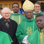 African Community: Festivities and Church Dignitaries