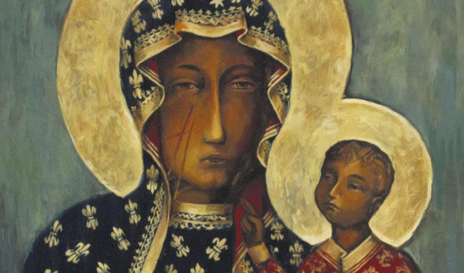 Svarta Madonnan  – miraklens och  mysteriernas moder