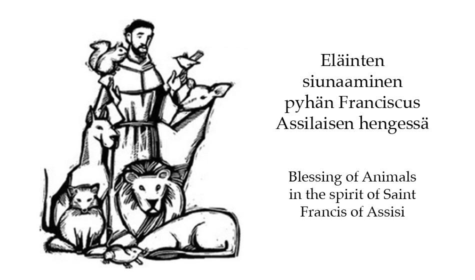 Eläinten siunaaminen