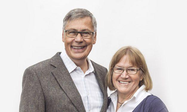 Ulf ja Birgitta Ekman vierailevat Helsingissä