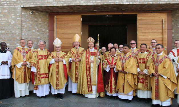 Trondheimin piispa-prelaatti vihittiin