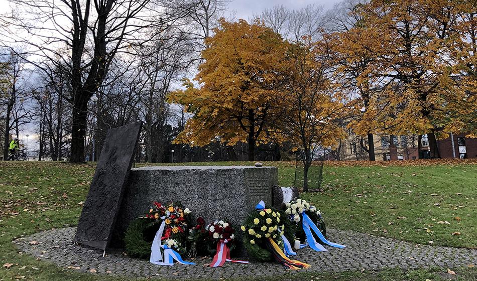 Suomesta luovutettujen juutalaisten muistotilaisuus