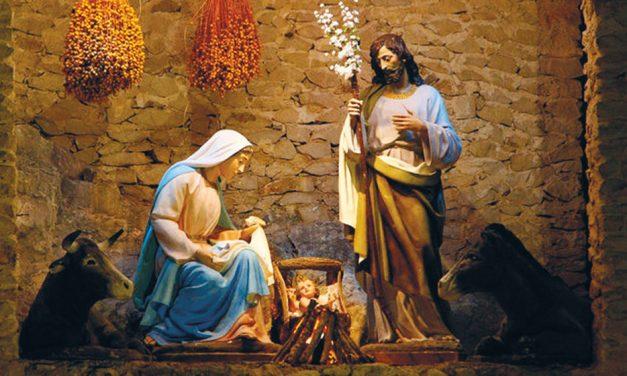 Herran syntymä on myös rauhan syntymä