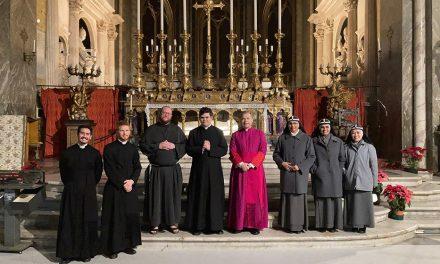 Pyhän Henrikin messu Roomassa poikkeusoloissa