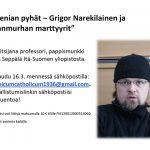 Etäluento: Armenian pyhät – Grigor Narekilainen ja kansanmurhan marttyyrit