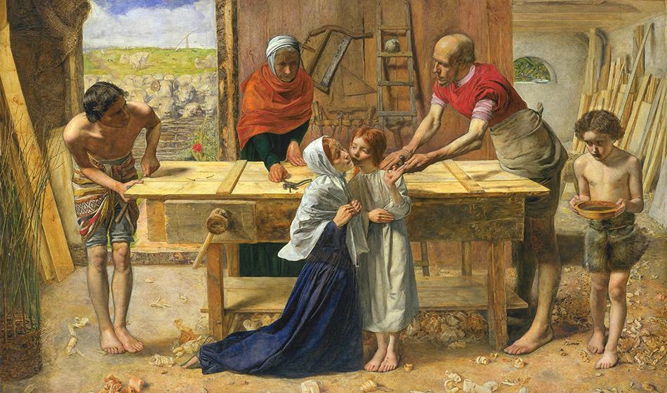 Pyhä Joosef, hiljainen suuruus