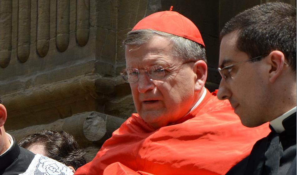 Kardinaali Burke sairastui vakavasti