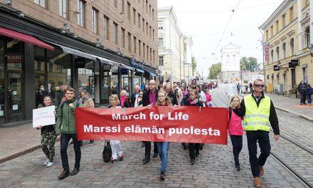 Jokainen elämä on arvokas – marssi elämän puolesta